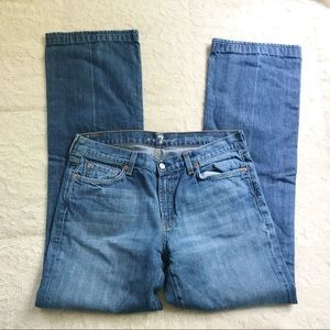 7 For All Mankind Long Bootcut Jeans Size 34